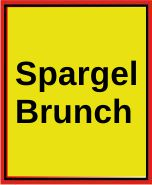 Spargelbrunch